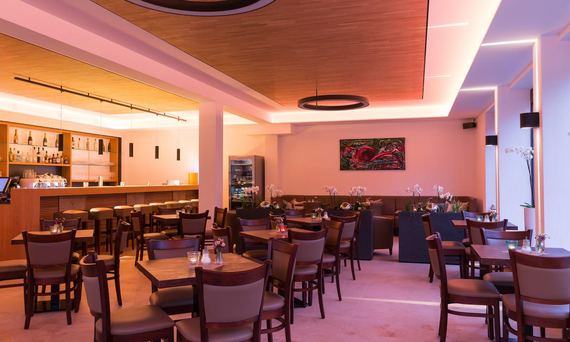 Innenraum Cafe Heinz dunkel
